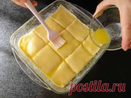 КРАХМАЛ + ТВОРОГ, получается пирог / Фантастическая выпечка из простых продуктов