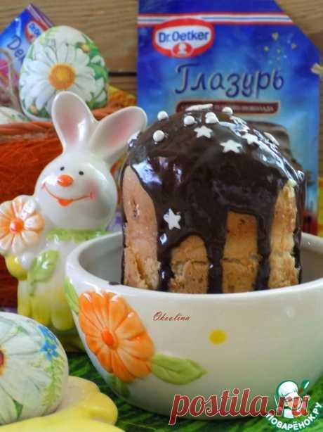 Мини-куличи из кружки – кулинарный рецепт