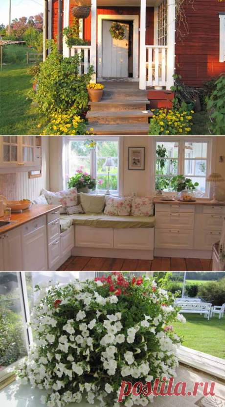 Красивая дача своими руками: 40 фото дома и сада