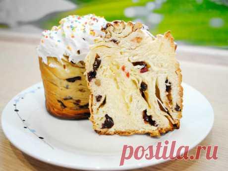 Кулич краффин — новый рецепт пасхального кулича | Вкусные рецепты