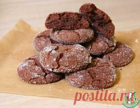"""Печенье """"Шоколадная бомба"""" – кулинарный рецепт"""