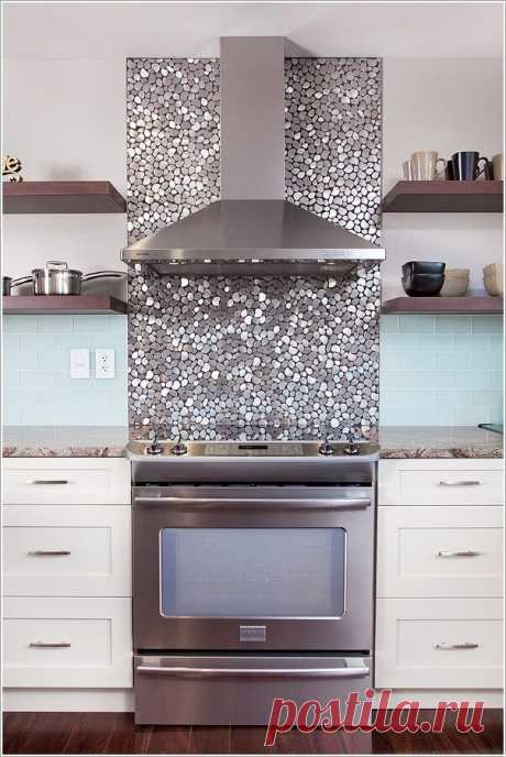 Как оформить кухонный фартук — Идеи ремонта