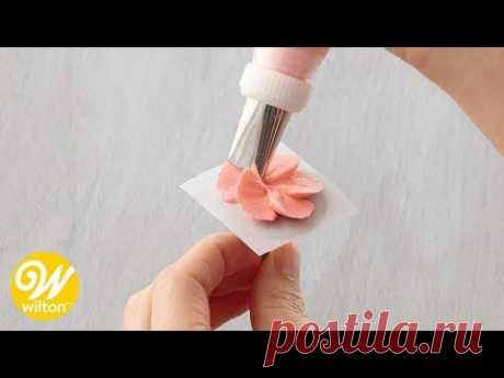 How to Use a Flower Nail for Piping Flowers   Wilton