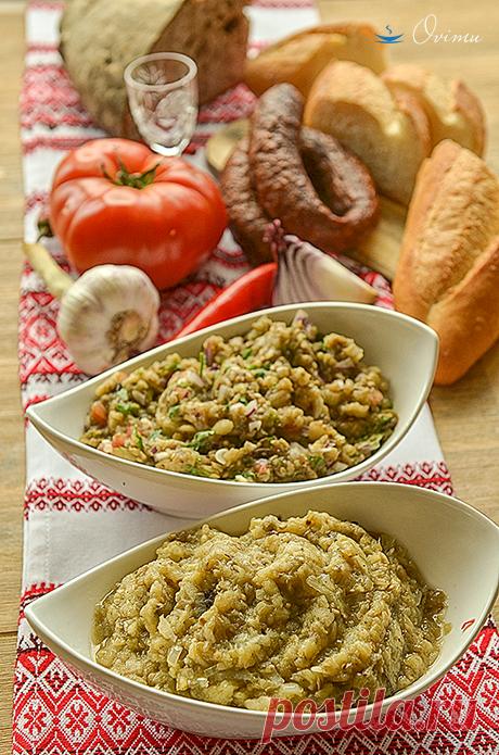 Ukrainian cuisine. Caviar from eggplants.:: NoNaMe