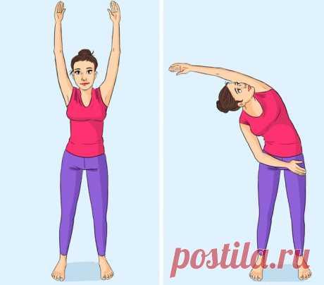 10+ упражнений на растяжку для категорически деревянных людей, после которых спина обязательно скажет: «Как хорошо-то, а!»