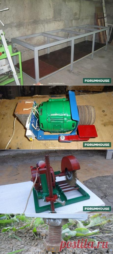 Самодельные станки для работы с металлом - Дом и стройка - Статьи - FORUMHOUSE