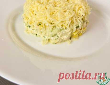 Салат с печенью трески – кулинарный рецепт