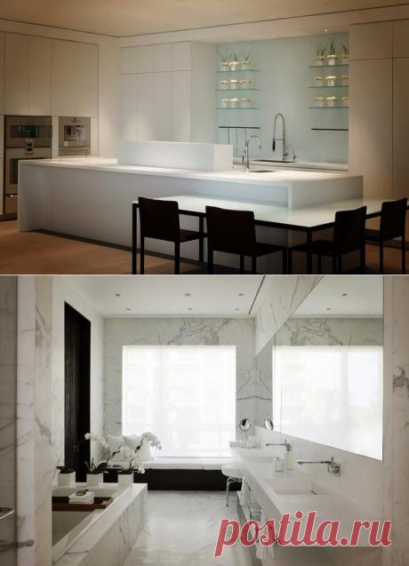 Интерьер квартиры в Торонто - Дизайн интерьеров | Идеи вашего дома | Lodgers