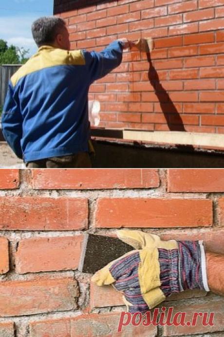 Покраска кирпича (57 фото): окрашивание поверхности кирпичной стены, краска для кладки, чем покрасить фасад на улице?