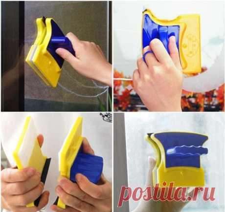 Магнитная щетка для мытья окон – какую выбрать?