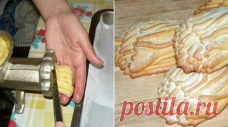 Пісочне печиво з м'ясорубки. Смак, який нагадує дитинство! — INFO LIFE