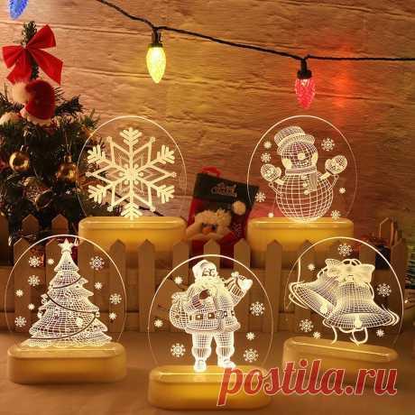 новогодние украшения 2021 Новый год 2021 дед мороз Снеговик Рождественская елка светодиодный гирлянда гирлянды рождественские украшения для дома Рождество новогодний декор 2021 новый год декор декор дома для дома|Кулоны и подвески| | АлиЭкспресс
