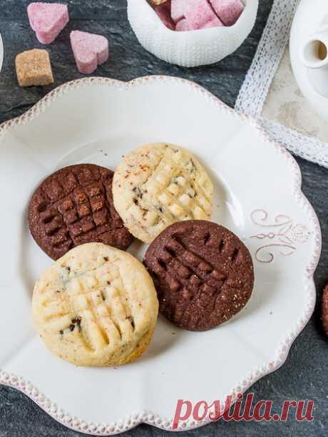 Рецепт шоколадного печенья по-американски на Вкусном Блоге