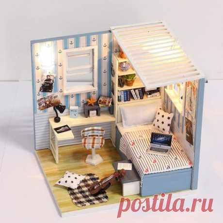 """Румбокс """"Комната романтика"""", 12 x 10 x 11,5 см — купить по цене от 890 руб."""