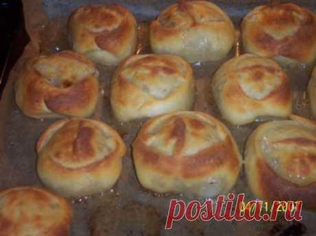 «Манты» из духовки