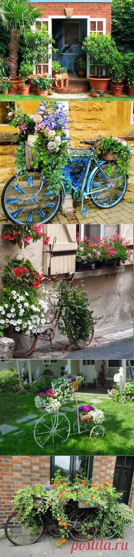 Идеи для оформления вашего дворика.