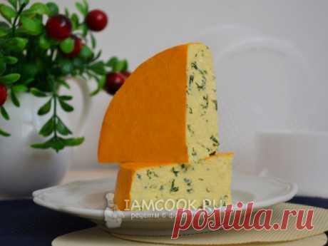 Домашний сыр с зеленью — рецепт с фото
