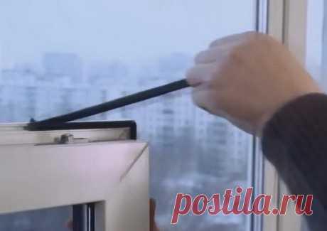 Самостоятельная замена резинового уплотнителя пластикового окна — Самострой