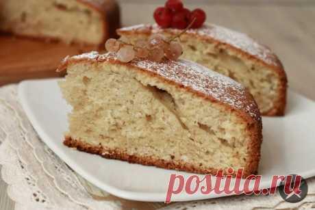 """Пирог """"12 ложек""""  Итальянский пирог """"12 ложек"""" славится своим отменным вкусом. Готовится выпечка предельно просто. Ингредиенты взвешивать не нужно, продукты отмеряются ложками. Испеките этот пирог и насладитесь его совершенным вкусом!  Понадобится: Показать полностью..."""