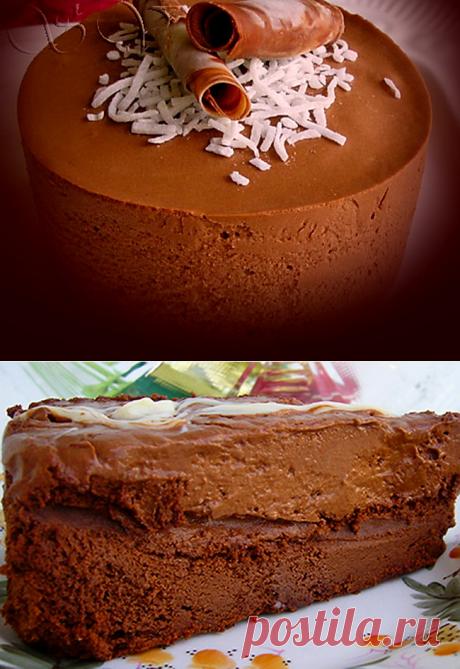 """Очень вкусный тортик к праздникам """"Шоколадный мусс"""""""