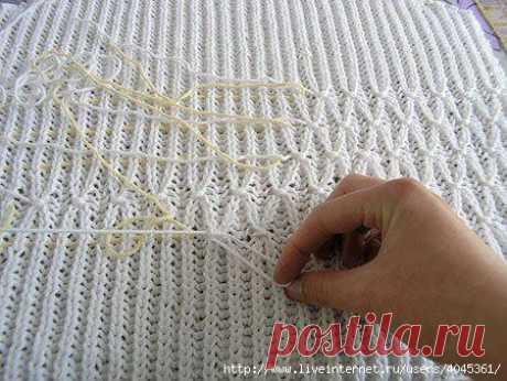 Мини-идеи к вязаному . Милая Я