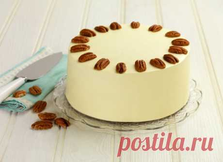 Морковный торт со сливочным кремом по рецепту известного кондитера - tochka.net