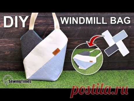 I made a pretty windmill bag today. This is a pretty bag that can be easily made. Share this video with a lot of people who need it. Have a good time! Finish...