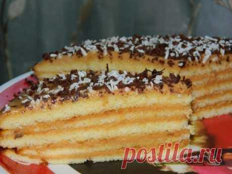 Очень вкусный тортик.