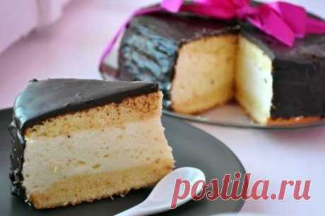 Торт-суфле (Птичье молоко)