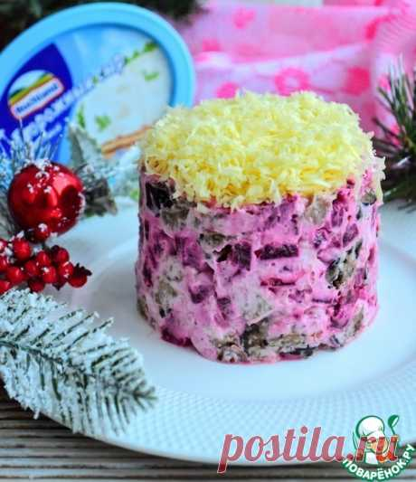 Салат со свеклой и баклажанами – кулинарный рецепт