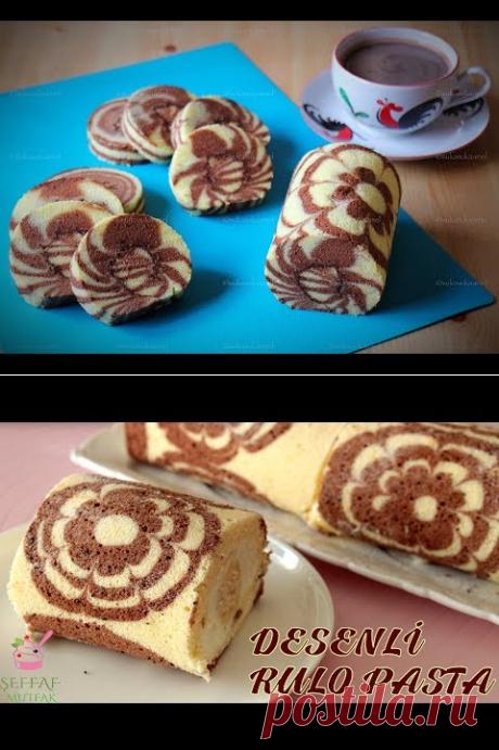 (1675) Chocolate Zebra Roll Cake | Suka Suka Amel - YouTube