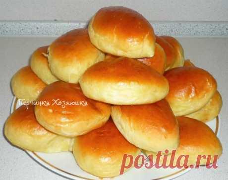 Tasty pies in an oven with different stuffings - Vypechka.Perchinka-KHozyayushka.ru