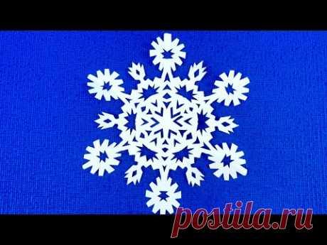 САМЫЕ КРАСИВЫЕ СНЕЖИНКИ ИЗ БУМАГИ ПОШАГОВО🌲Snowflakes from paper.#Snowflakes #Снежинки
