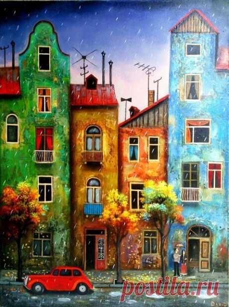 Очарование Тбилиси и его жителей на картинах грузинского художника - Путешествуем вместе