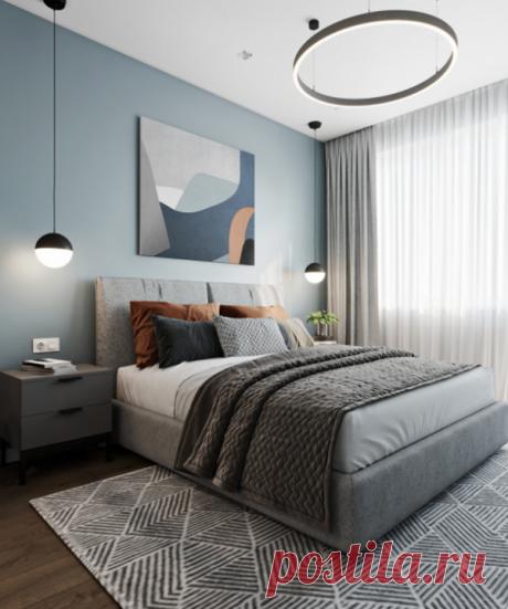 Цвет как инструмент для оформления стильной спальной комнаты Полная подборка проектов по ссылке