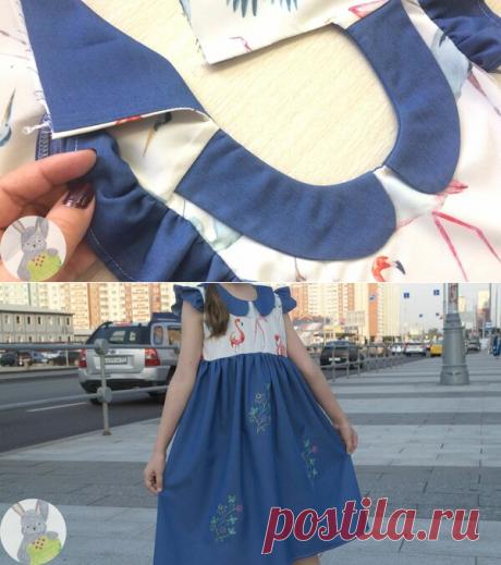 Остатки сладки, или какое получилось платье для малышки из них | Творческие будни | Яндекс Дзен