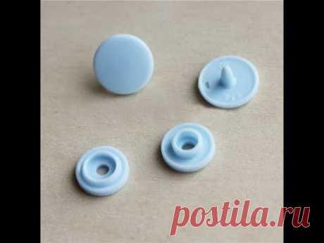 Как установить пластиковые кнопки без щипцов