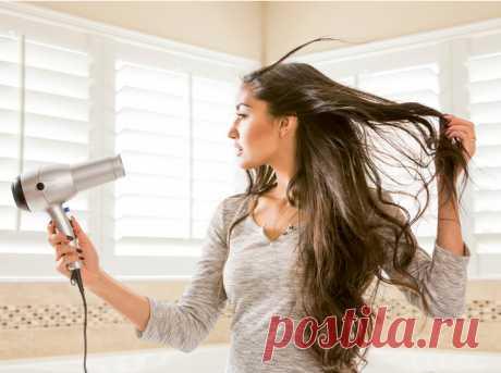Все наоборот: как на самом деле следует сушить волосы (не поверите)   Marie Claire