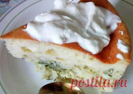 Пирог с капустой и зеленью - пошаговый рецепт с фото. Автор рецепта Дарья . - Cookpad