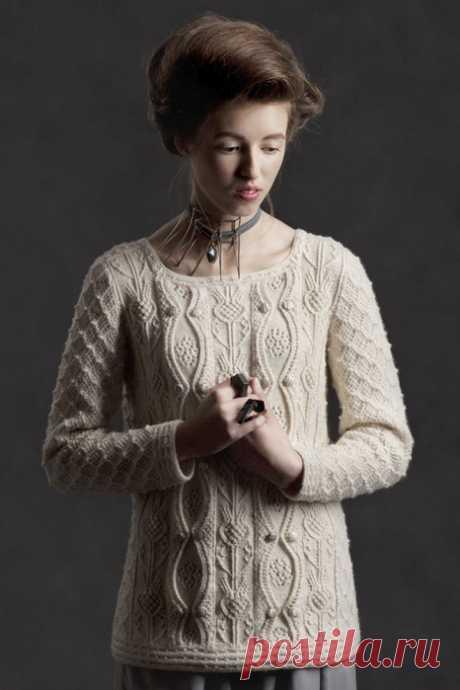 шикарный пуловер от Tudor Roses