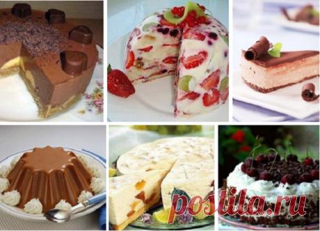 Топ лучших тортов без выпечки: супер подборка!