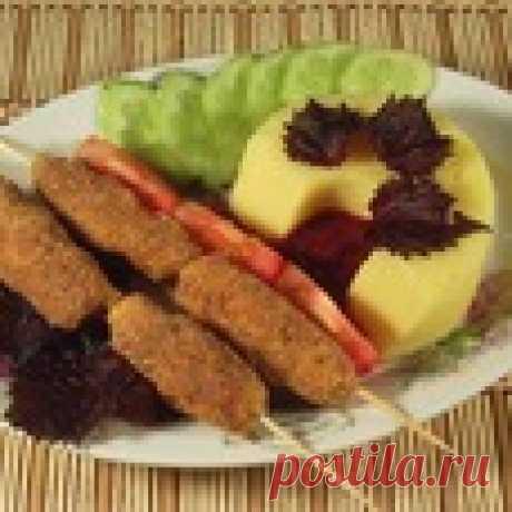 Наггетсы рубленые с сыром Кулинарный рецепт