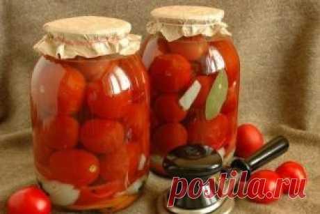 Сладкие помидоры на зиму - Закрутки на зиму