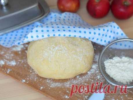 Песочно-дрожжевое тесто - пошаговый рецепт с фото на Повар.ру
