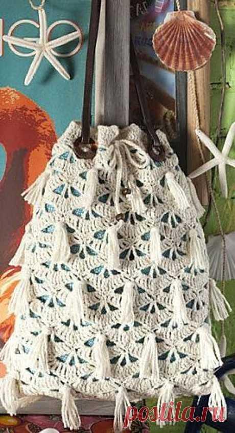 Las bolsas tejidas. La elección grande - 120 fotos