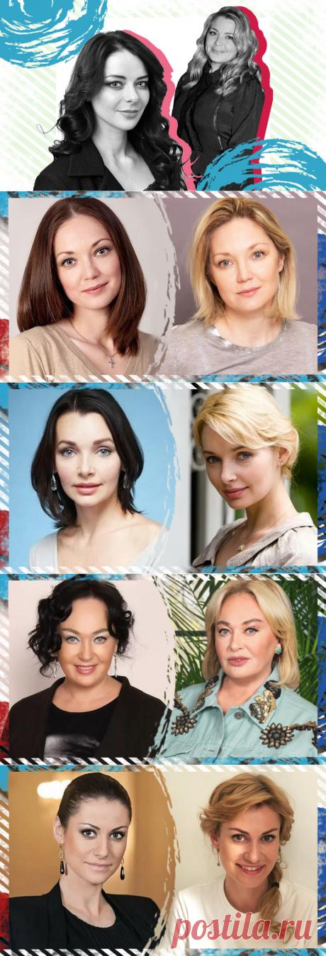 Блондинки или брюнетки: 10 российских звезд, которые однажды решили сменить образ (Часть 2)   Движение времени   Яндекс Дзен