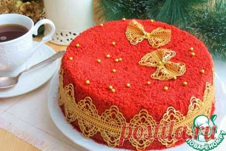 "Торт ""Красный бархат"" – кулинарный рецепт"