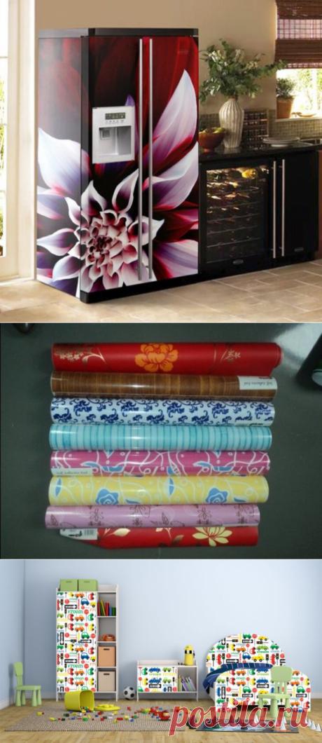 Декор мебели с помощью пленки — Наши дома