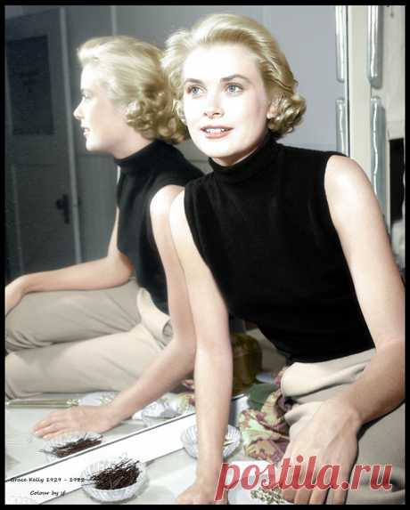 Grace Kelly 1929 - 1982 Pictured in 1954 - Grace Patricia Kelly was an American actress who became Princess of Monaco after marrying Prince Rainier III, in April 1956. Wikipedia