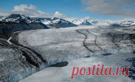 Ледник Колумбия, Аляска